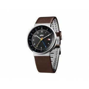 BRAUN/ブラウン メンズウォッチ BN0142 ブラック×シルバー×ブラウンホワイト×シルバー×ネイビー腕時計 受注商品 ギフト プレゼント 専用アクリルボックス付|bricbloc
