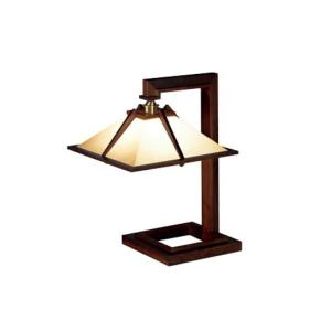 Frank Lloyd Wright(フランクロイドライト)「TALIESIN 1」ウォルナット照明器具テーブルライトフロアライトインテリア シリアルナンバー1995年グッドデザイン賞|bricbloc