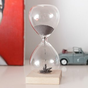 Magnetic Hourglassマグネティックアワーグラス砂鉄を用いた砂時計インテリア雑貨ギフト プレゼント不思議なアートKIKKERLAND / from U.S.A.キッカーランド|bricbloc