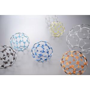 AOZORA (あおぞら)Fullerene Puzzle フラーレンパズル 五角形+六角形炭素分子構造から生まれた立体パズルインテリアギフト プレゼントオブジェ|bricbloc