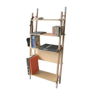 abode/アボードLADDER RACK - Double折りたたみできるラックリビングラック本や雑誌の収納デザイナーズ家具インテリア送料無料収納家具店舗什器|bricbloc