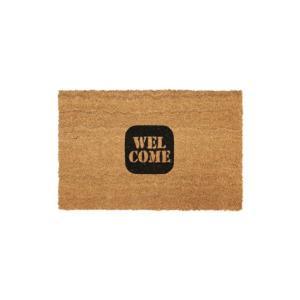 "Lowis Industry Coir Doormat ""LI-10 WELCOM""ルイスインダストリーコイヤードアマット ""LI-10 ウェルカム""ココヤシ製のドアマット天然素材インテリア|bricbloc"