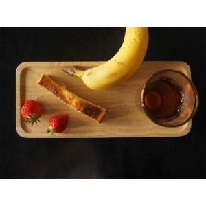 ACACIA WOODEN PLATE Mサイズ ホワイトウッドトレーペントレーコイントレースタッキングインテリアキッチン用品カフェおやつ木目の風合い|bricbloc
