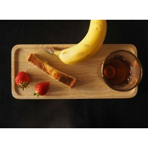 ACACIA WOODEN PLATE Mサイズ ナチュラルウッドトレーペントレーコイントレースタッキングインテリアキッチン用品カフェおやつ木目の風合い|bricbloc