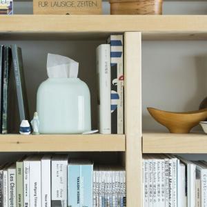 DUENDE PICCOLAライトグリーンティッシュケースリビングキッチンパウダールーム本棚ギフト プレゼントインテリア丸みを帯びた柔らかなフォルム|bricbloc