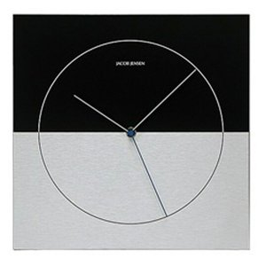 Jacob Jensen JJ315壁掛時計ヤコブ・イェンセンインテリア送料無料光と影を意識した代表的な2トーンのデザインエレメントリビングギフト プレゼント|bricbloc