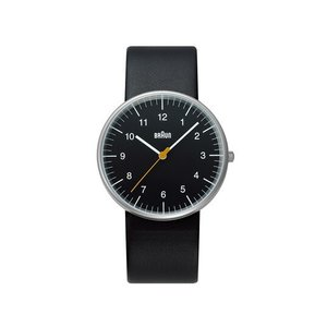 BRAUN ウォッチ BNH0021 BKBKG腕時計ブラウンディーター・ラムスエンボス加工送料無料ギフト プレゼントバウハウス|bricbloc