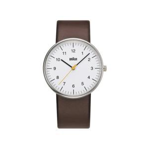 BRAUN ウォッチ BN0021 WHBRG腕時計ブラウンディーター・ラムスエンボス加工送料無料ギフト プレゼントバウハウス|bricbloc