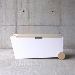 abode BENCH BOXベンチサイドテーブルリビングルームキッズルーム収納家具デザイナーズ家具インテリア送料無料キャスター付小物やおもちゃの収納|bricbloc
