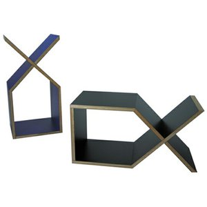 abode DXサイドテーブルブックシェルフ送料無料インテリアデザイナーズ家具リビングベッドサイドカラフルなボディ|bricbloc