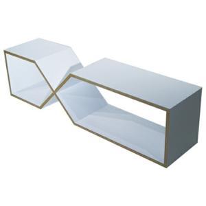 abode DXDXリビングテーブルサイドボードテレビボードブックシェルフデザイナーズ家具インテリア送料無料互い違いに積み重ねたり、縦・横どちらでも設置可能|bricbloc
