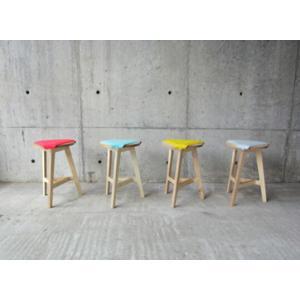 abode F2Aスツールサイドテーブルカラフルなパッドインテリア送料無料玄関で靴を履くときのスツールリビングダイニング軽量デザイナーズ家具|bricbloc