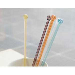 ガラス作家 高梨良子 マドラー縞シリーズ同系色の濃淡が織りなす繊細な縞模様にもご注目ください。キッチン用品インテリアギフト プレゼント|bricbloc