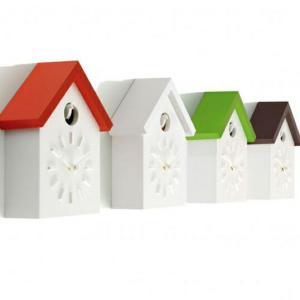 MAGIS Cu-Clockクークロック壁掛時計鳩時計インテリアギフト プレゼント送料無料プラスチック製メーカー保証|bricbloc