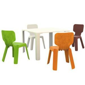 MAGIS Alma(アルマ)スタッキングできる子供向けのチェア(椅子)プラスチック製軽量で持ち運びに便利屋外使用可インテリア子供部屋 庭カラフルな色|bricbloc