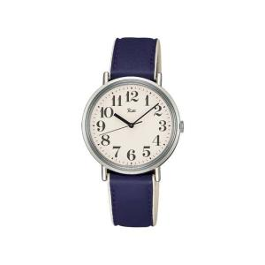 SEIKOセイコーウォッチリキウォッチ日本の伝統色乳白×茄子紺腕時計ギフト プレゼント渡辺力ユニバーサルデザインアラビア数字男女兼用送料無料|bricbloc