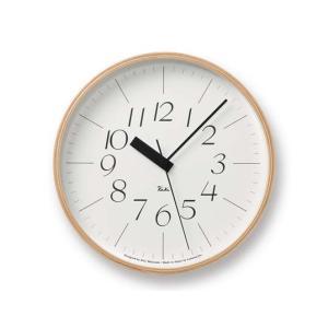 リキクロック 細文字/電波時計 Lサイズウォールクロック壁掛時計インテリアプライウッド木製フレームグッドデザイン賞ギフト プレゼント送料無料|bricbloc