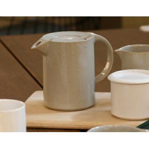 Ceramic Japan/セラミックジャパンモデラート ティーポット指にフィットするような形状の持ち手が特徴的日常使いに最適キッチン用品電子レンジ使用可コーヒー|bricbloc