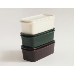 Ceramic Japan/セラミックジャパンハーベスト Mサイズ使い勝手のいいスタンダードな保存容器キャニスターキッチン用品電子レンジ可ギフトスタッキング可|bricbloc