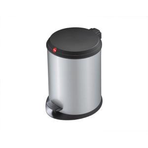 Hailo T1.13 ペダルビン シルバー使う場所を選ばない実用的なペダルビンインナービンの取り外し 水洗いが可能リビングキッチンデスクサイドインテリア|bricbloc
