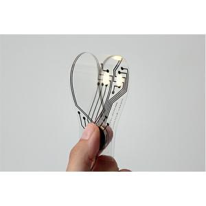共栄デザイン bookmark light電気を送るインクを使って特殊なフィルムに印刷されたブックマークですブックマークとして使用でき、リチウムコイン電池使用|bricbloc