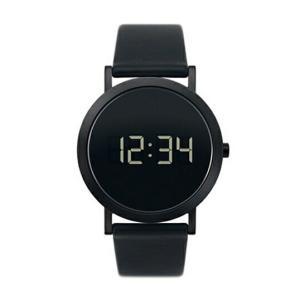 normalDigital Grande Black DG-L02デジタルグランデ DG-L02 腕時計シンプルでとても美しい仕上がりのデジタル時計 ギフト時間表示秒表示日付表示男性用 bricbloc