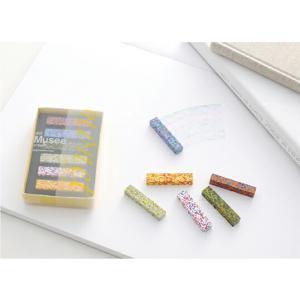 AOZORADot Musee Crayon[ドットミュゼクレヨン]印象派の画家「モネ」の絵画の色彩を混ぜ込んだクレヨン様々な色合いからなるモザイク状の美しいクレヨンギフト|bricbloc