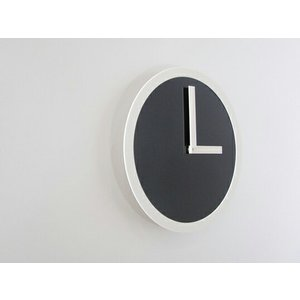 PICTO CLOCK BLACK ピクトクロック ブラック AIR FRAME / エアフレームウォールクロック 壁掛時計アクリル板ピクトグラムインテリアギフト プレゼント受注生産品|bricbloc|02