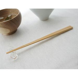 甲斐のぶお工房 箸 小 ナチュラル竹のカトラリーシリーズしやなやかで丈夫な竹は日常使いに適した素材素材を活かしたシャープで滑らかな箸先が特徴キッチン用品|bricbloc