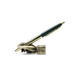 Writing Hand Pen Stand  Brass ライティングハンドペンスタンド  ブラス  ペンを持っているかのように見えるペンスタンド|bricbloc