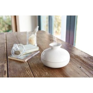 KATORI POT WHITE 蚊取り用ポット ホワイト 巻蚊取り線香専用 陶器製|bricbloc|02
