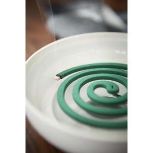 KATORI POT WHITE 蚊取り用ポット ホワイト 巻蚊取り線香専用 陶器製|bricbloc|05