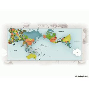 AuthaGraph World Map ポスター|bricbloc|02