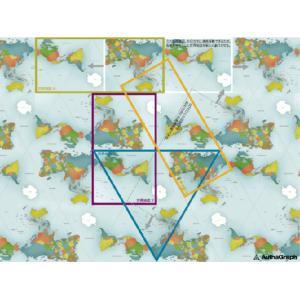 AuthaGraph World Map ポスター|bricbloc|05