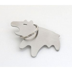 HARE OF THE DOG KEYRING + OPENER / ヘア オブ ザ ドッグ キーリング + オープナー TRICO bricbloc