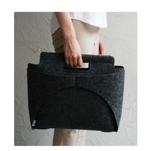 MOCO BAG /modern black  手提げバッグ トートバッグ  印デザイン ファッション|bricbloc
