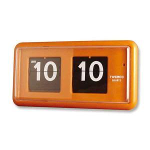 Twemco QT-30 置時計 パタパタ式のクロック bricbloc 05