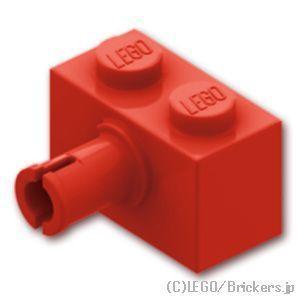 レゴ パーツ ばら売り ブロック 1 x 2 - ピン:レッ...