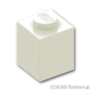 レゴ パーツ ばら売り ブロック 1 x 1:ホワイト | lego 部品