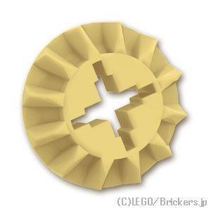 レゴ ばら売りパーツ テクニック べベルギア - 12歯:(タン)