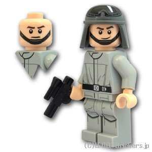 レゴ(LEGO)スター・ウォーズミニフィグ AT-ST ドライバー(75153)【SW797】  ※...