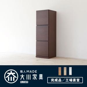 キャビネット 完成品 日本製 国産 大川家具 本棚 収納棚 キャビネット/ペルル 40-3R