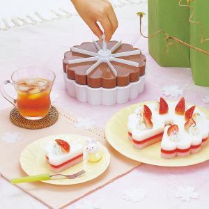 デザート型 マイ・パーラー 電子レンジ対応 マイパーラー ヘラ付き 製菓用品 ケーキ型 ゼリー型 寒天  母 お中元|bridge