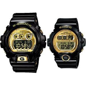 CASIO / G-SHOCK / Baby-G カシオ / Gショック / ベビーG 腕時計 ペアウォッチ ブラック/ゴールド 国内正規品 GD-X6900FB-1JF/BG-6901-1JF|bright-bright