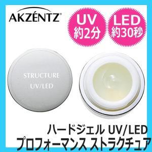 アクセンツ プロフォーマンス ストラクチュア 7g (UV/LED対応ハードジェル) AKZENTZ bright08