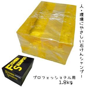 フィッシャー レモンシャンプー 1.8kg 天然ヤシの実 人・環境にやさしい石けんシャンプー 滝川 bright08