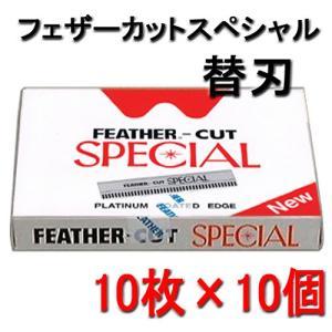 フェザーカットスペシャル 替刃 CSN-10 (10枚×10個)|bright08