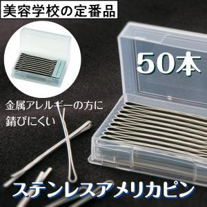 ニシダ ステンレス アメリカピン 50本 ヘアピン|bright08
