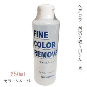 ファイン カラーリムーバー 250ml 阪本高生堂 ヘアサロン技術者専用 酸性カラーも落とす 専用除去剤|bright08