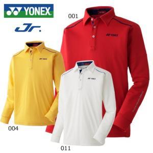 【YONEX】【ヨネックス】GWF1560J ジュニア長袖ポロシャツ|bright1ststage